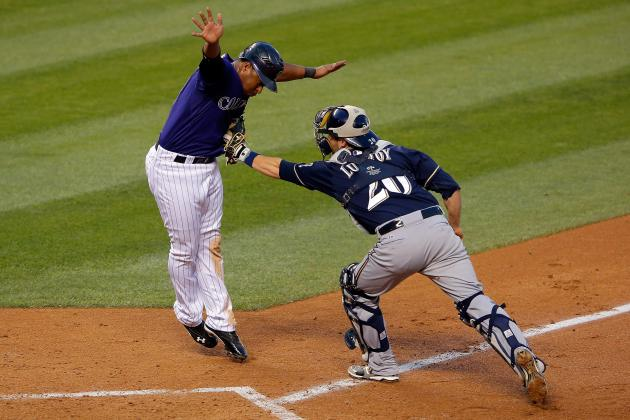 Brewers' Fall from NL Central Top Spot Could Be Historic