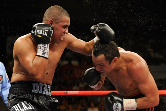 Juan 'The Baby Bull' Diaz to Make ShowBox Return: Tarver out for Failed PED Test