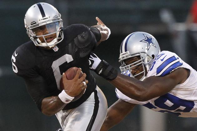 NFL Preseason 2012: Raiders' QB Terrelle Pryor on Thin Ice After Horrific Night