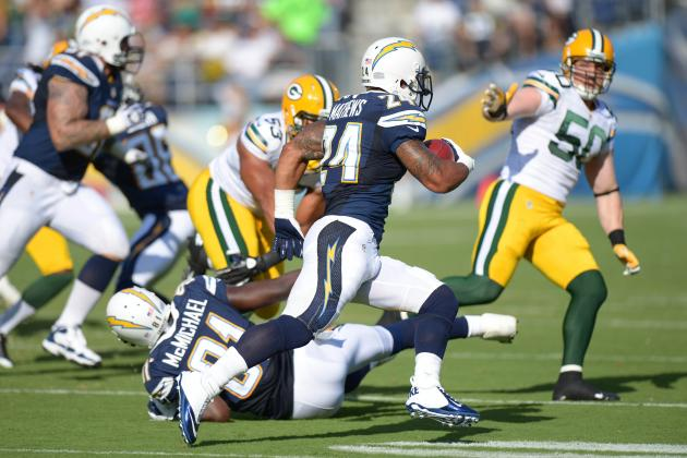 San Diego Chargers Must Not Rush Ryan Mathews Back
