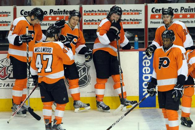 Flyers Look to Regroup After Plans Fall Through