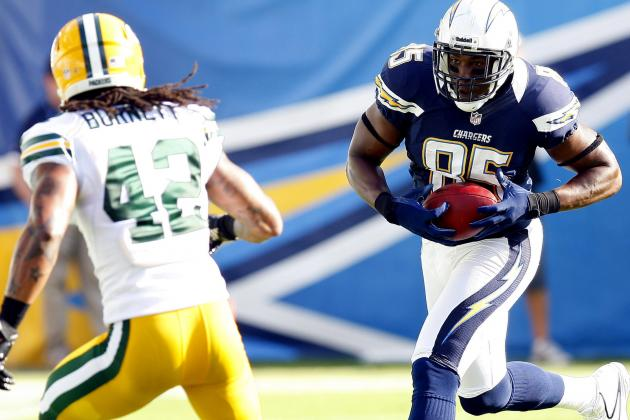 Antonio Gates and Malcom Floyd Have to Stay Healthy for the San Diego Chargers