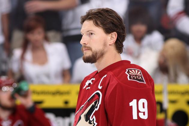 Red Wings Still Interested in Free Agent Forward Shane Doan