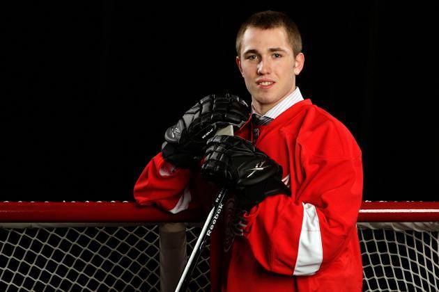 Red Wings Prospect Landon Ferraro Finally Healthy