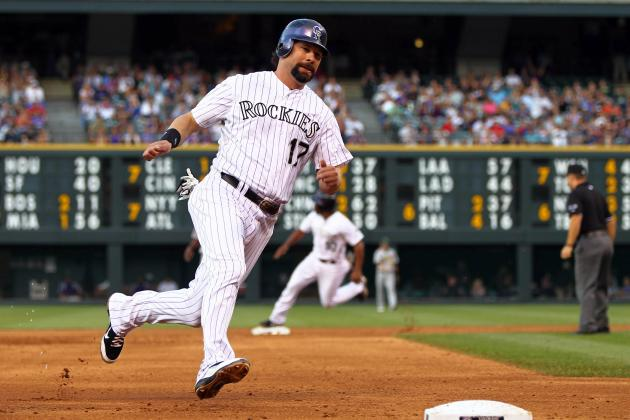 Rockies First Baseman Todd Helton Has Surgery on Left Hip