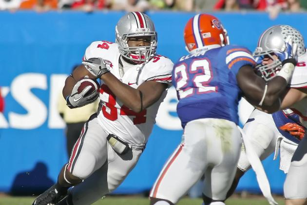 Ohio State Football: Carlos Hyde Could Steal Starting Role from Jordan Hall