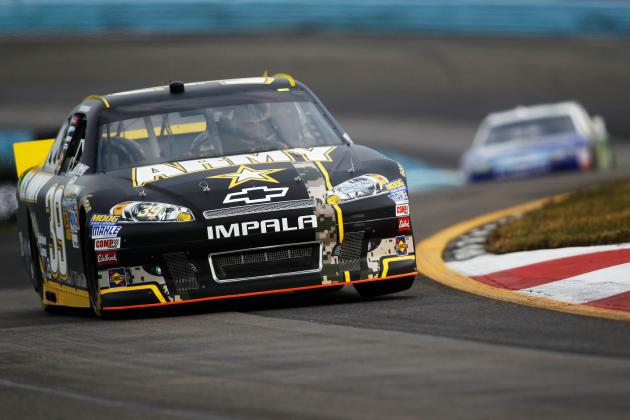 Wild Card Race: Ryan Newman Is In, for Now