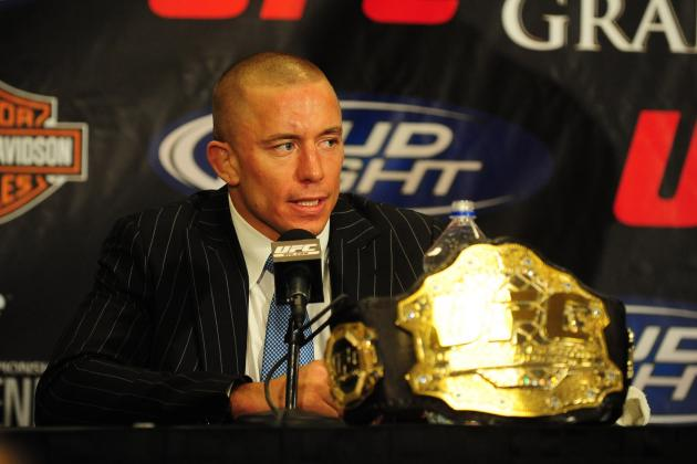 GSP Thinks Super Fight with Anderson Silva Could Be Prevented by Chris Weidman