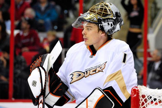 Why the Anaheim Ducks' Season Depends on Jonas Hiller