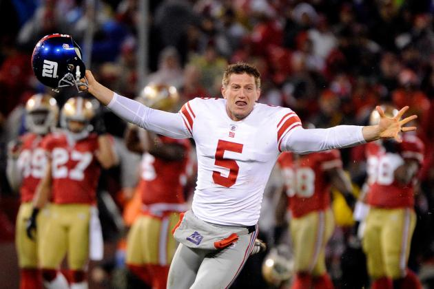 N.Y. Giants Fan Gets Wedding Proposal Assist from Punter Steve Weatherford