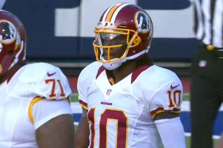 Washington Redskins: A Closer Look at Robert Griffin's Six Passes vs. Buffalo