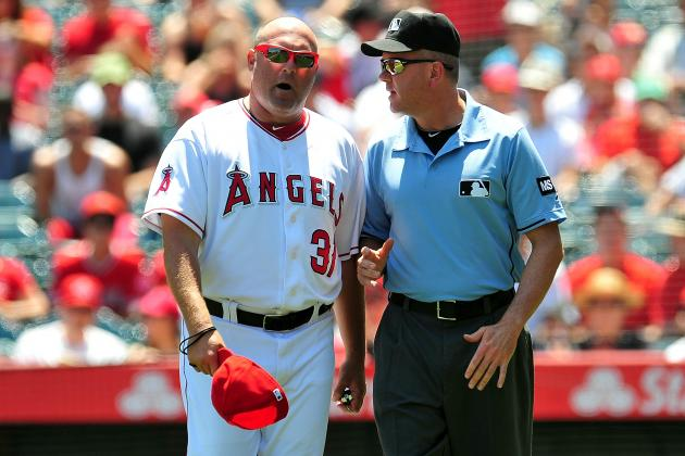 Report: Halos' Pitching Coach Suspended
