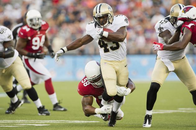 Darren Sproles Knee Injury Is Not a Big Deal for the New Orleans Saints