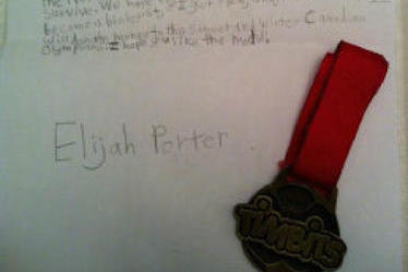 Newfoundland boy, 10, gives heartbroken Canadian relay team his medal