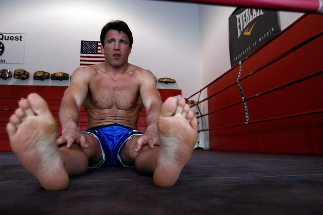 UFC Star Chael Sonnen's Path to Jon Jones Goes Right Through Forrest Griffin