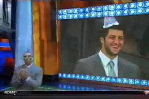 Tim Tebow Overdose: ESPN Hits Rock Bottom with Birthday Celebration