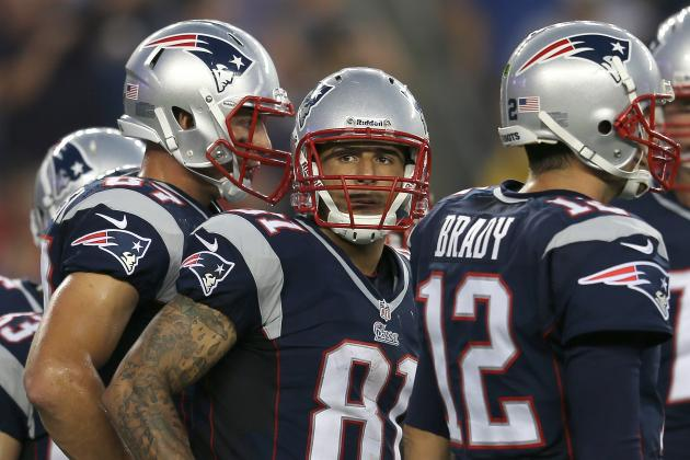 New England Patriots: Why Aaron Hernandez Is Better off at TE Than WR