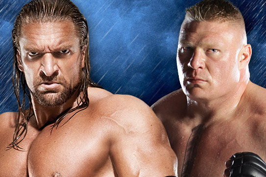 WWE SummerSlam 2012: Analyzing the Brock Lesnar vs. Triple H Buildup