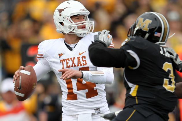 Texas Football 2012: At This Point, Camp Quarterback Battle Is Counterproductive