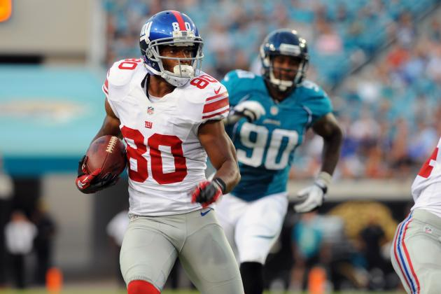 Fantasy Football 2012: Profile and Projection of Victor Cruz, New York Giants WR