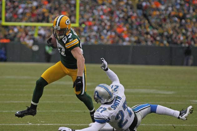 Packers Receivers Past and Present Get in the End Zone