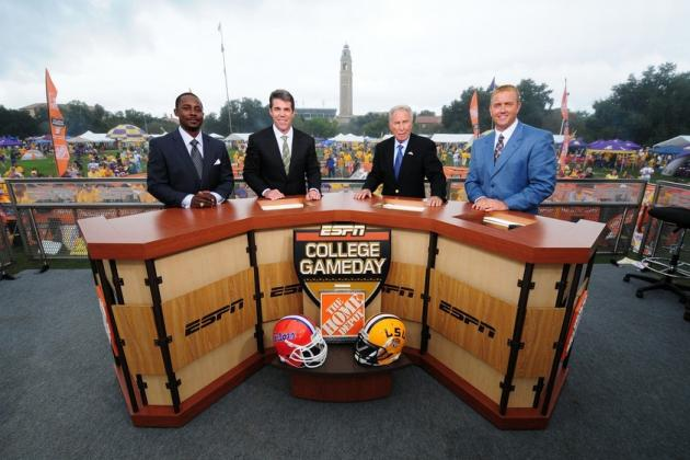 ESPN College GameDay Will Attend Alabama vs. Michigan Week 1 Showdown
