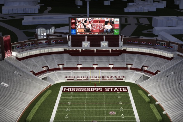 Mississippi State Football: Davis Wade Stadium Set for Expansion and Renovation