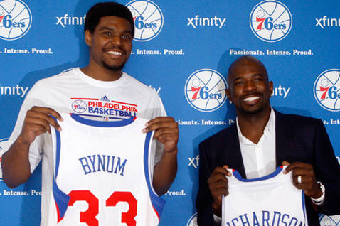 Philadelphia 76ers: Additions of Bynum and Richardson Give Bench More Depth
