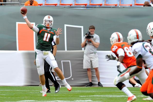 Miami Football 2012: Naming Stephen Morris Starter Is the Smart, Safe QB Move