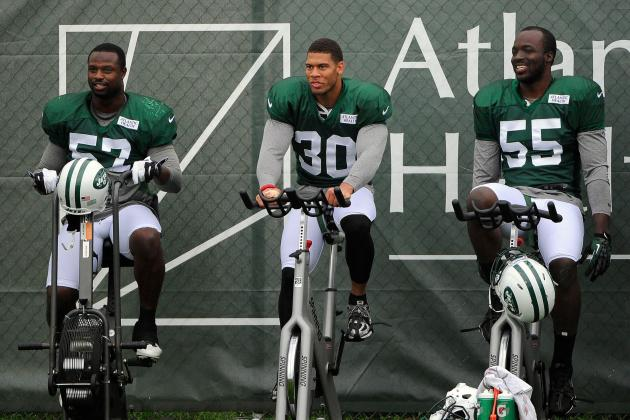 Hard-Hitting LaRon Landry, Yeremiah Bell Short-Term Solutions for New York Jets