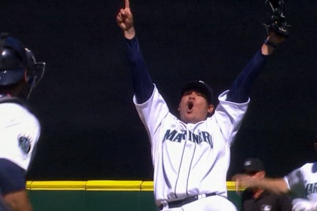 Mariners' Felix Hernandez Throws a Perfect Game Against the Rays