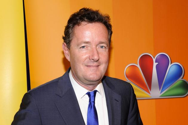 Piers Morgan Goes on Twitter Rampage After Robin van Persie Signs for Man Utd
