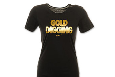 Nike Gold Digging Shirt: Olympics Design Marks Rare Marketing Flub by Company