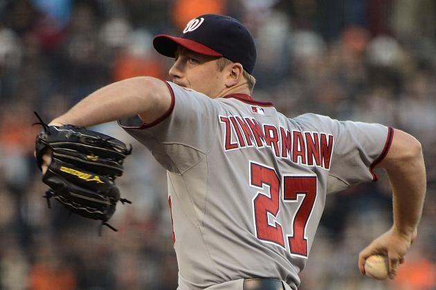 Jordan Zimmermann: NL's Most Dominant Pitcher Since the All-Star Break?