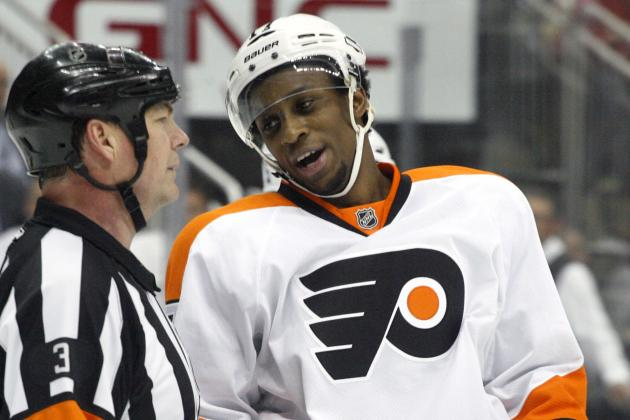 Flyers, Simmonds Agree to Six-Year Contract Extension