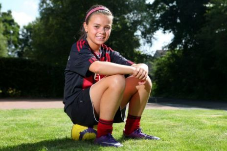 Did AC Milan Really Sign a 10-Year-Old Girl for Their Youth System?