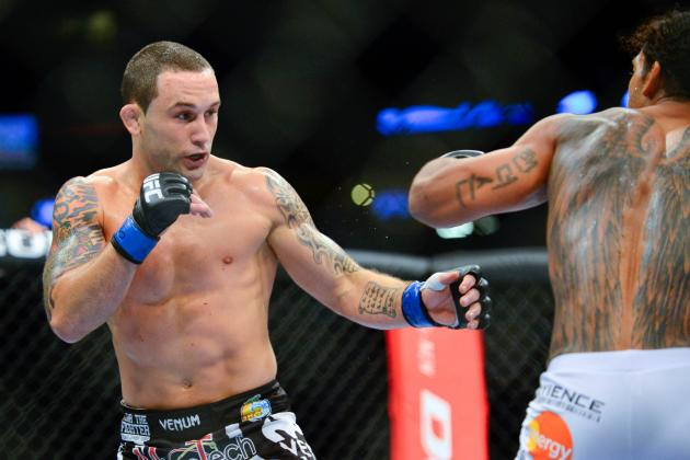 Frankie Edgar Doesn't Think Making 145 'Would Be Too Much of a Problem'