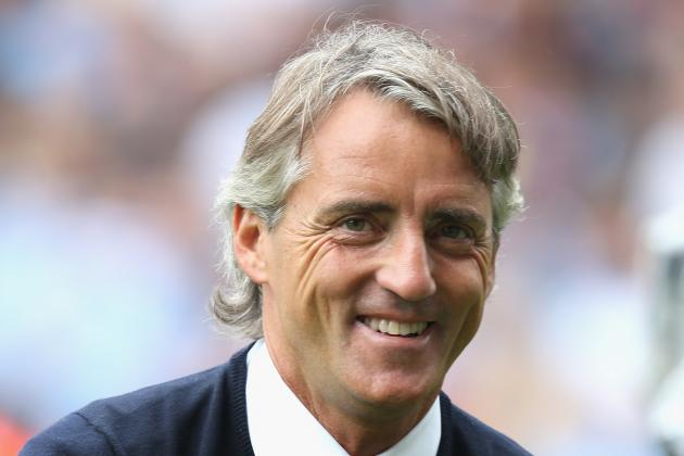 Manchester City Tactical Preview: How Roberto Mancini Will Set Up His Team