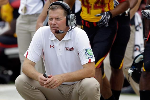 Maryland Football: Even with C.J. Brown Injury, Randy Edsall's Seat Is Just Warm