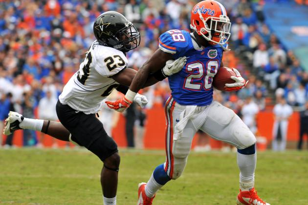 Why the New York Jets Need Former University of Florida Running Back Jeff Demps