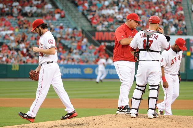 Scioscia: Poor Starting Pitching 'Holding Us Down'