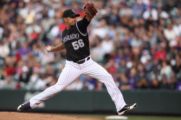 Rockies Designate Mike Ekstrom for Assignment; Recall Guillermo Moscoso