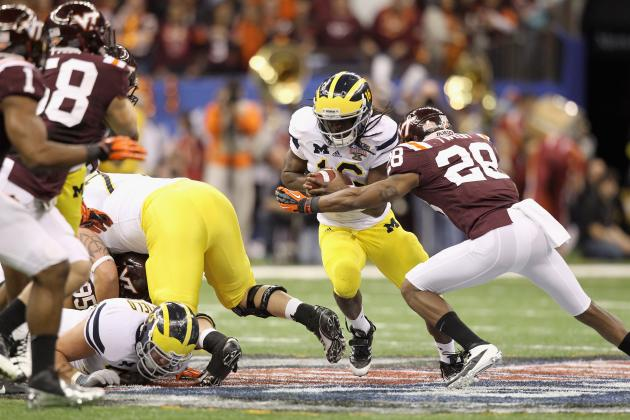 Michigan Football's Denard Robinson Is Key to Big Ten Title Hopes