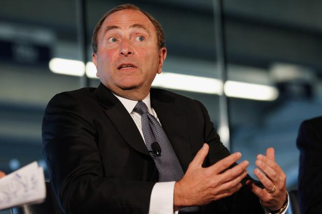Bettman Says 'Wide Gap' Remains in NHL Labor Talks