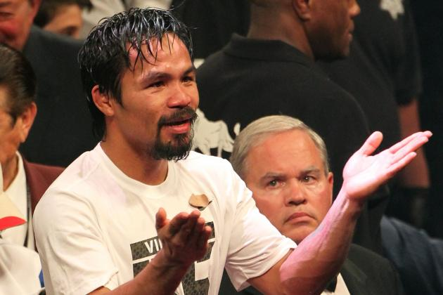 Manny Pacquiao Fight Booked at MGM Grand for November 10, 2012