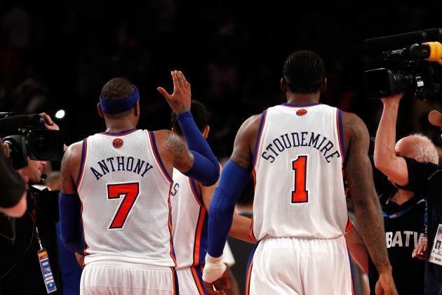 What's the Best Way to Solve the Carmelo/Amar'e Chemistry Problem for NY Knicks?