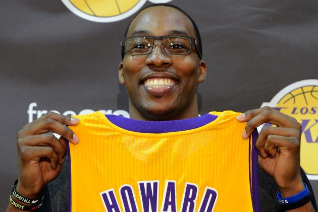 Dwight Howard: Predictions for Los Angeles Lakers Superstar Center in 2012-13