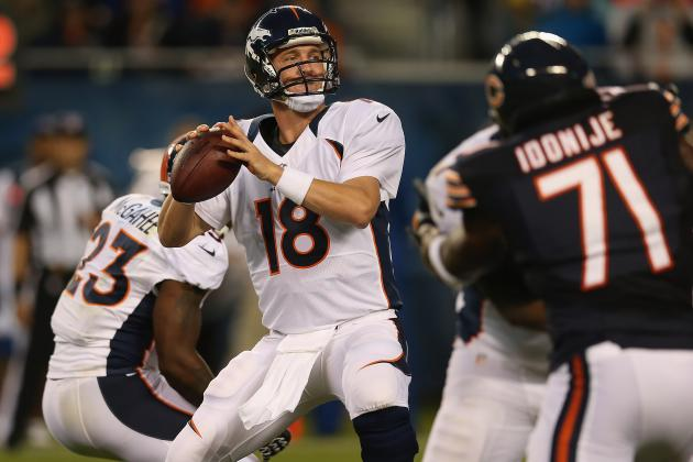 Peyton Manning: Health, Not Performance, Key to Denver Broncos QB's Preseason