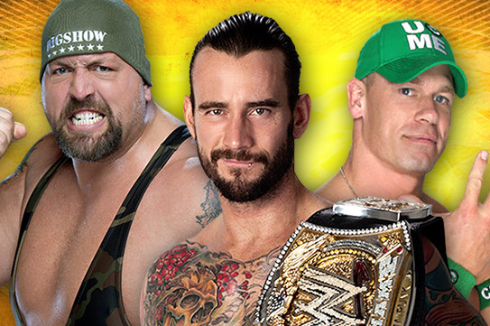 WWE SummerSlam 2012: CM Punk Will Retain WWE Title vs.  John Cena and Big Show