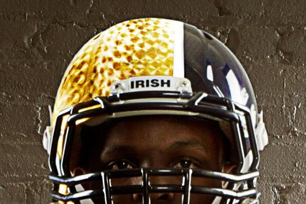 Notre Dame Football: Breaking Down the New Shamrock Series Uniforms